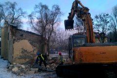 wyburzanie domów
