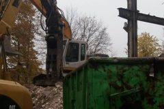 rozbiórka obiektu przemysłowego