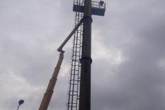 rozbiórka komina warszawa