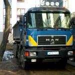 Samochód ciężarowy czteroosiowy