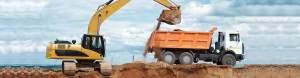 Transport samochodami ciężarowymi kruszywa i piasku