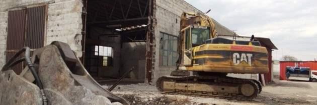 Rozbiórka części budynku gminnego przy ul. Szarych Szeregów