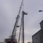 wyburzenie komina Warszawa